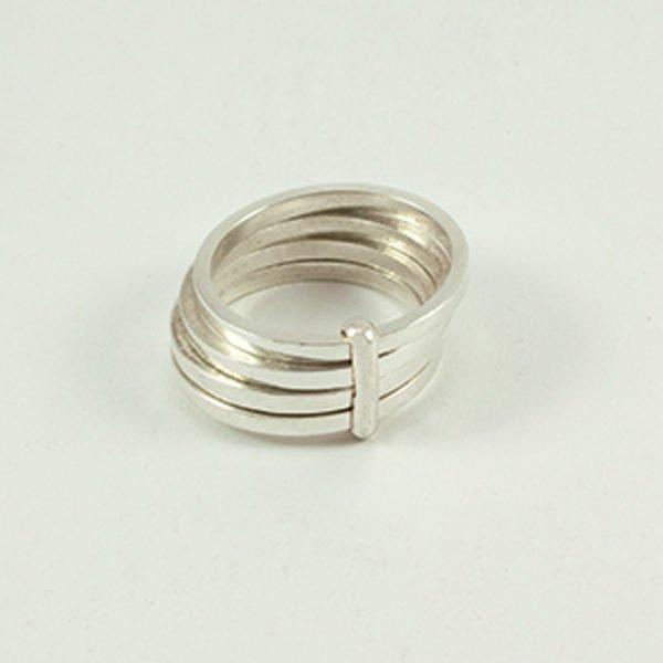 Ring mit 4fachring