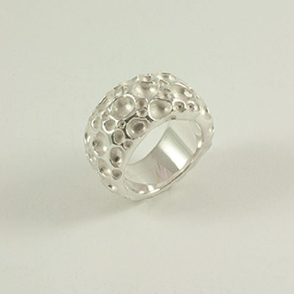 Ring mit Bubbles